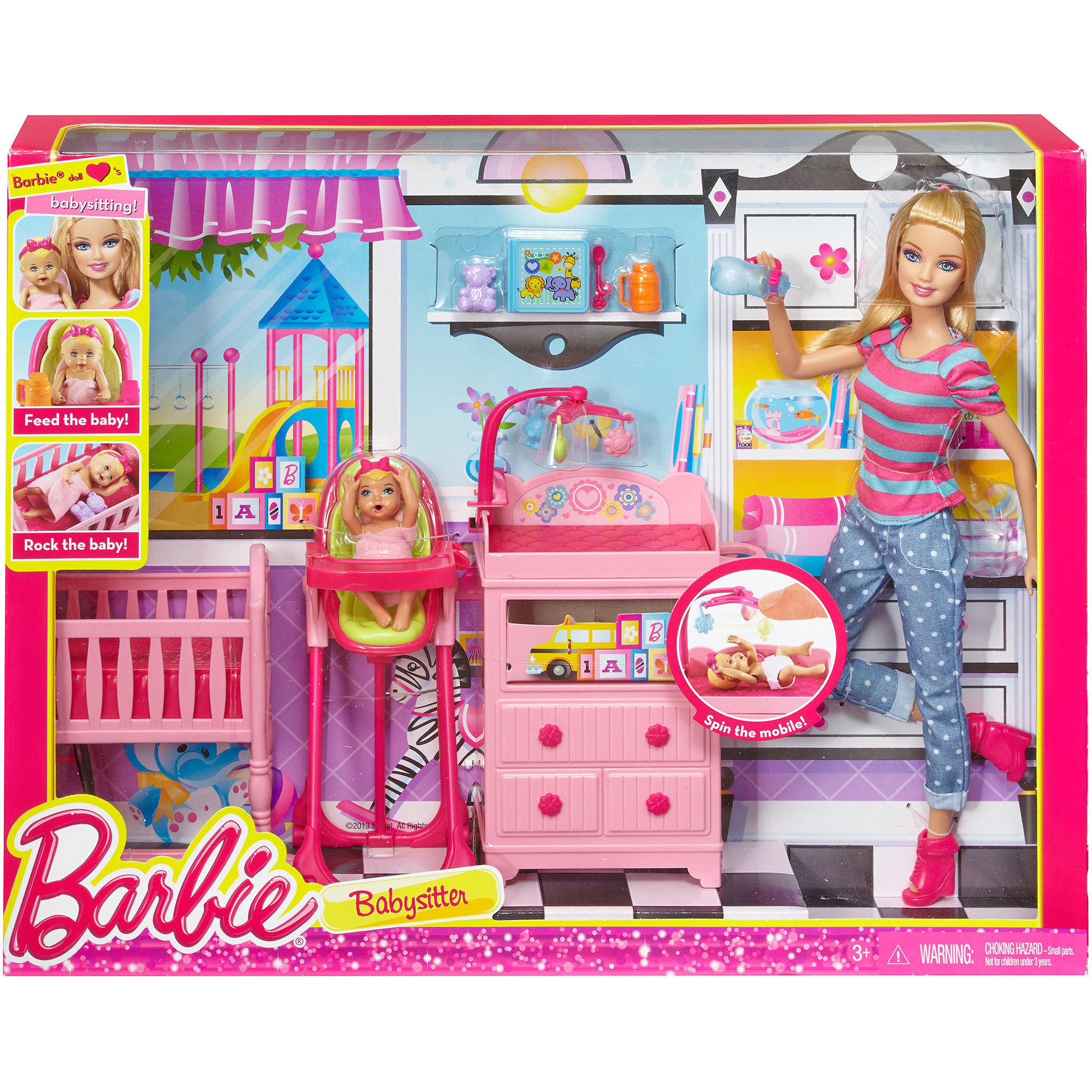 Barbie I Can Be Large Infant Caretaker Play Set