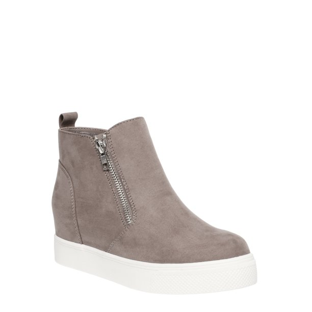 Women's Time And Tru Sneaker Wedge Bootie