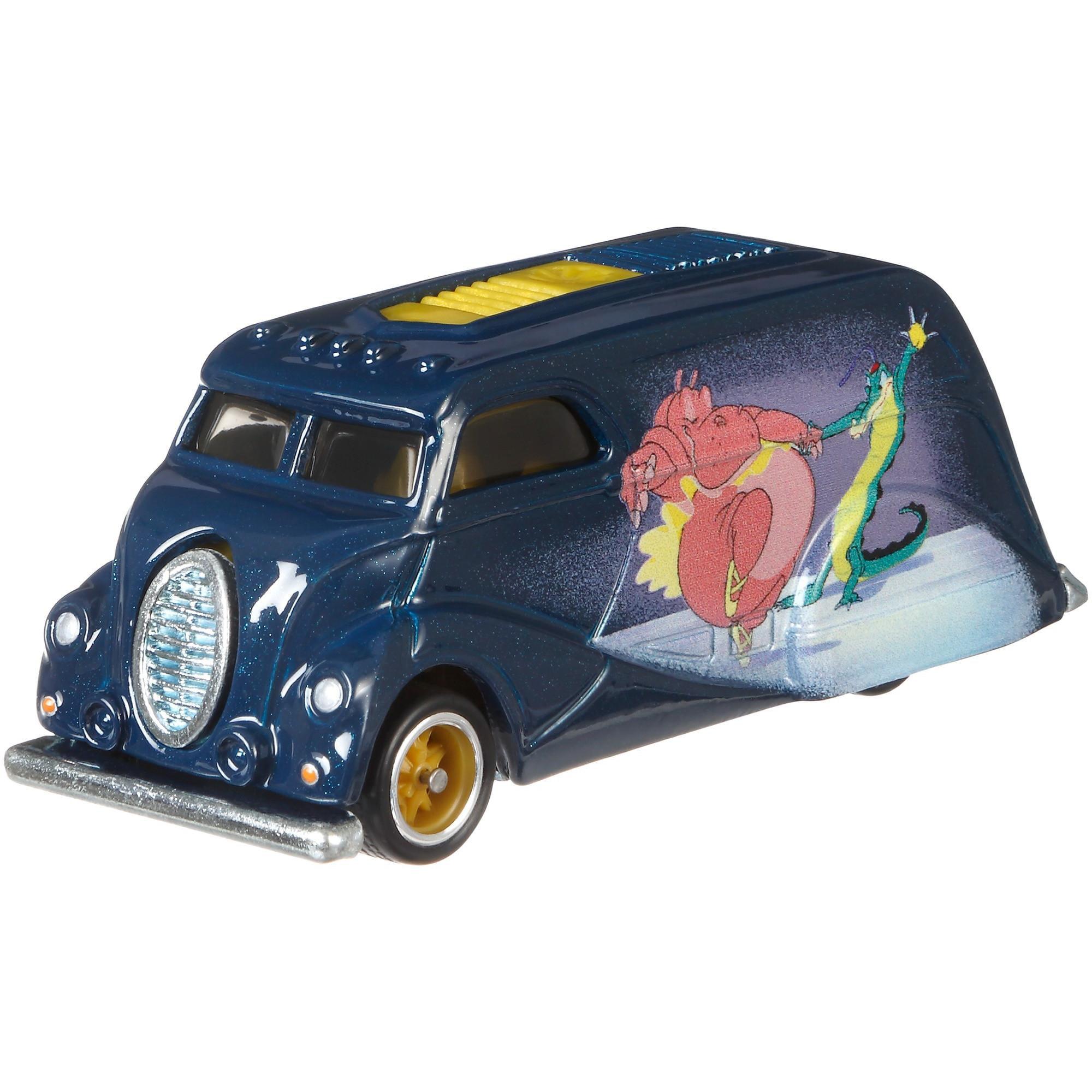 Hot Wheels Premium 1:64 Scale Disney's Fantasia Die-cast Delivery Vehicle by Mattel
