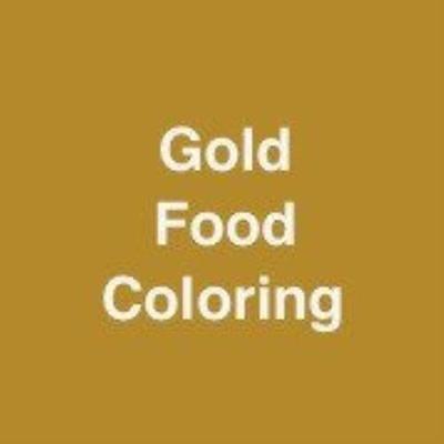 Gold Food Coloring - Walmart.com