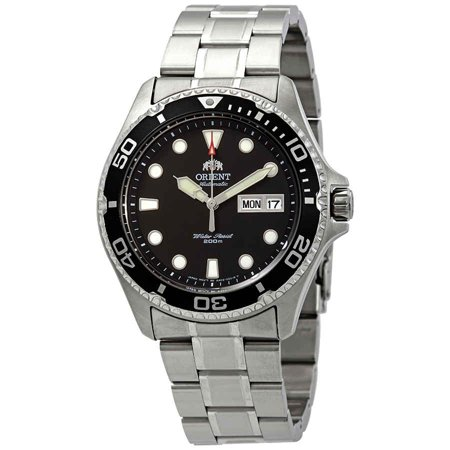 Orient Crystal Watch (Orient Diver Ray II Automatic Black Dial Men's Watch)