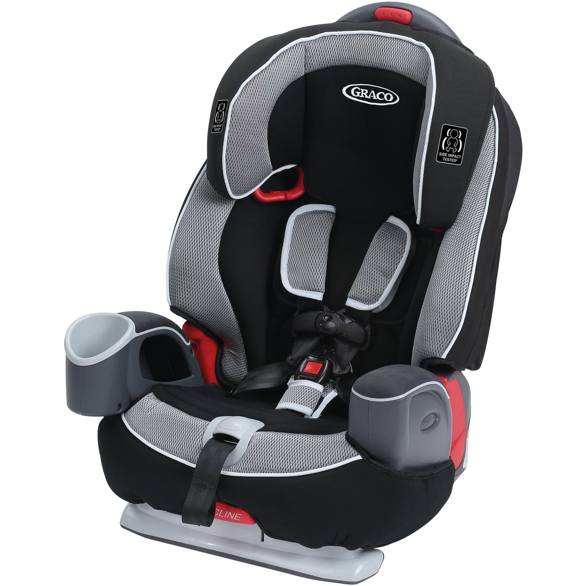 Graco Nautilus 65 3 in 1 Multi-use Harness Booster Car Seat, in Track