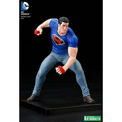 sdcc 2016 exclusive kotobukiya dc superman clark kent truth limited edition artfx 1/10 scale statue