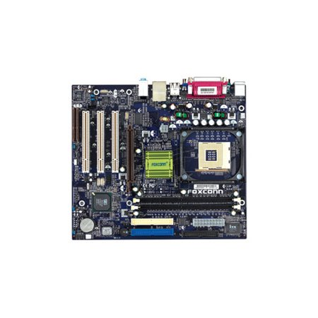 Refurbished-Foxconn650M02-G-6LSocket 478 motherboard with audio, video, LAN. 1AGP, 3PCI, 1CNR and 2 DDR DIMM slots. Motherboard only. No manual, I/O shield or