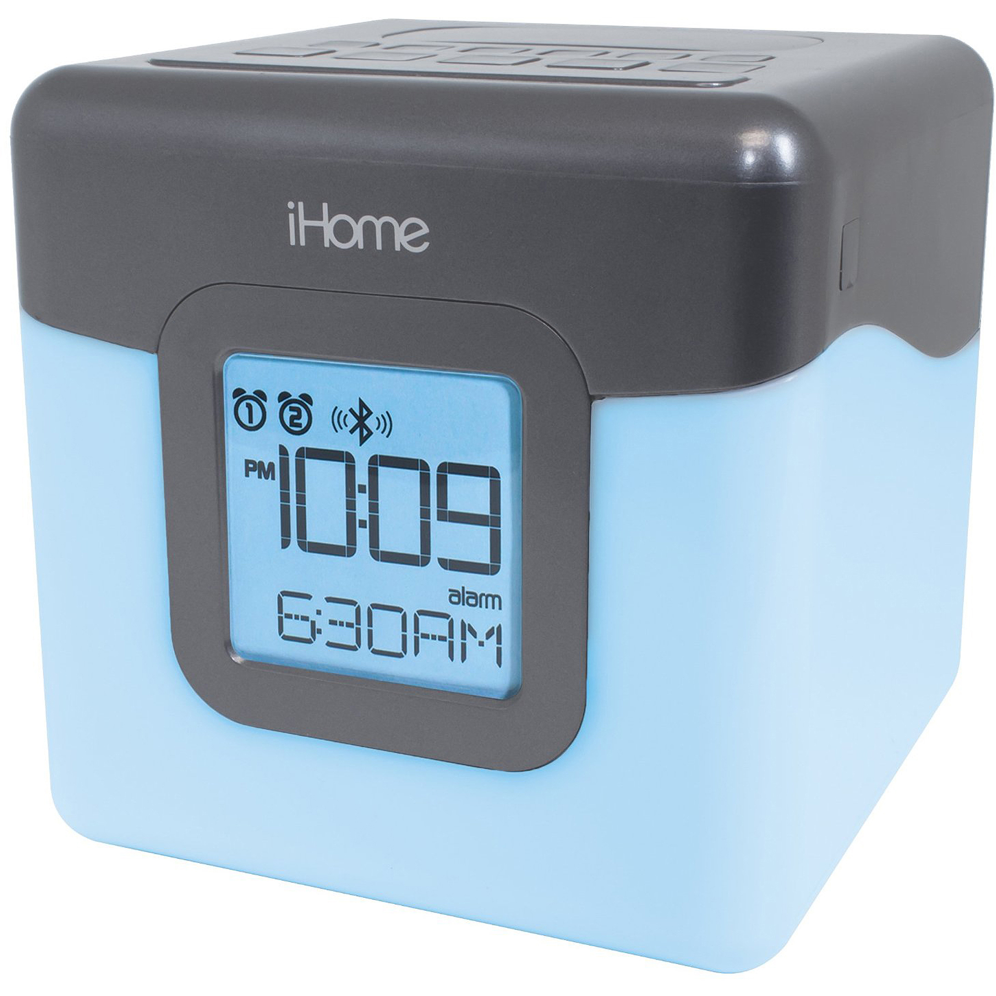 iHome iBT28 Bluetooth Color Change Clock