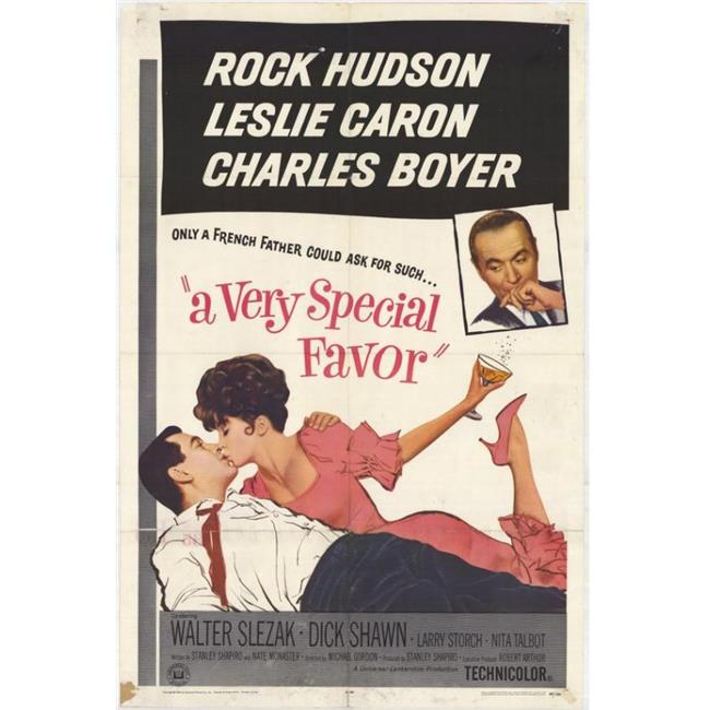 Posterazzi MOVGH3236 A Very Special Favor Movie Poster - 27 x 40 in. - image 1 of 1