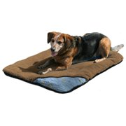 Kurgo Loft Wander Dog Bed for Travel Brown Medium