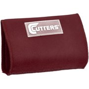 Shock Doctor Cutters Triple Playmaker Football Spandex Wristcoach, Maroon, Youth