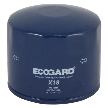 1968 Volvo 145 Engine - ECOGARD X18 Spin-On Engine Oil Filter for Conventional Oil - Premium Replacement Fits Volvo 850, S70, V70, 240, 940, 740, 960, 244, 245, S90, 760, V90, 242, 780, 164, 142, 144, 145, 745, 262, 265