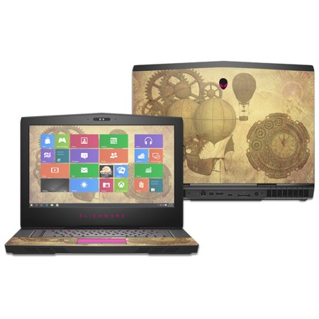 Skin Decal Wrap For Alienware 15  2016  Steam Punk Paper