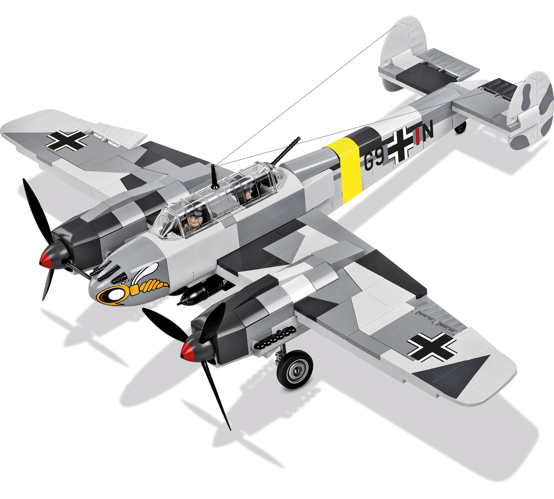 370 Blocks COBI Historical Collection Messerschmitt Bf 110C Plane Gift Idea