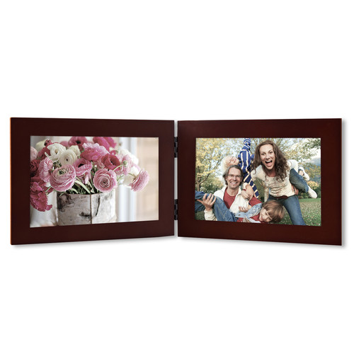 Adeco Trading 2 Opening Decorative Table Top Picture Frame