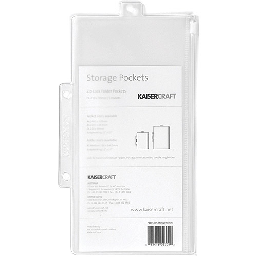 Pack and Store Storage Pockets, 5pk