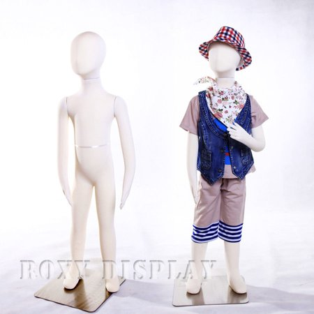 - 5 year old Full body jersey covered flexible children mannequin Dress Form Display #JF-CH05T