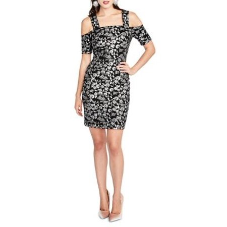 1bdd2bee Rachel Rachel Roy Dresses - Rachel Rachel Roy Womens Cold Shoulder Sheath  Dress - Walmart.com