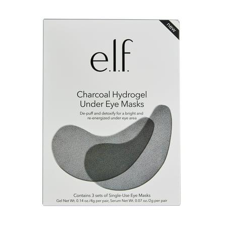 e.l.f. Cosmetics Charcoal Hydrogel Under Eye Mask (Best Under Eye Mask)