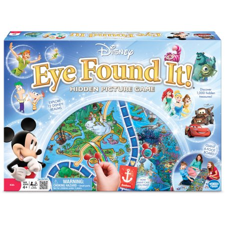 World of Disney Eye Found It! Game
