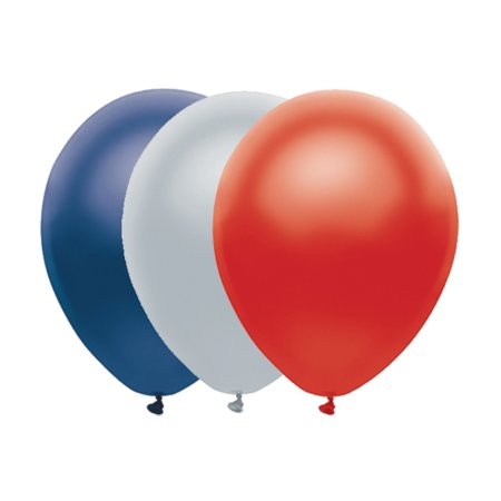 Super Bowl 51 New England Patriots Pack 10Pc Balloon Pack  Red Blue Silver