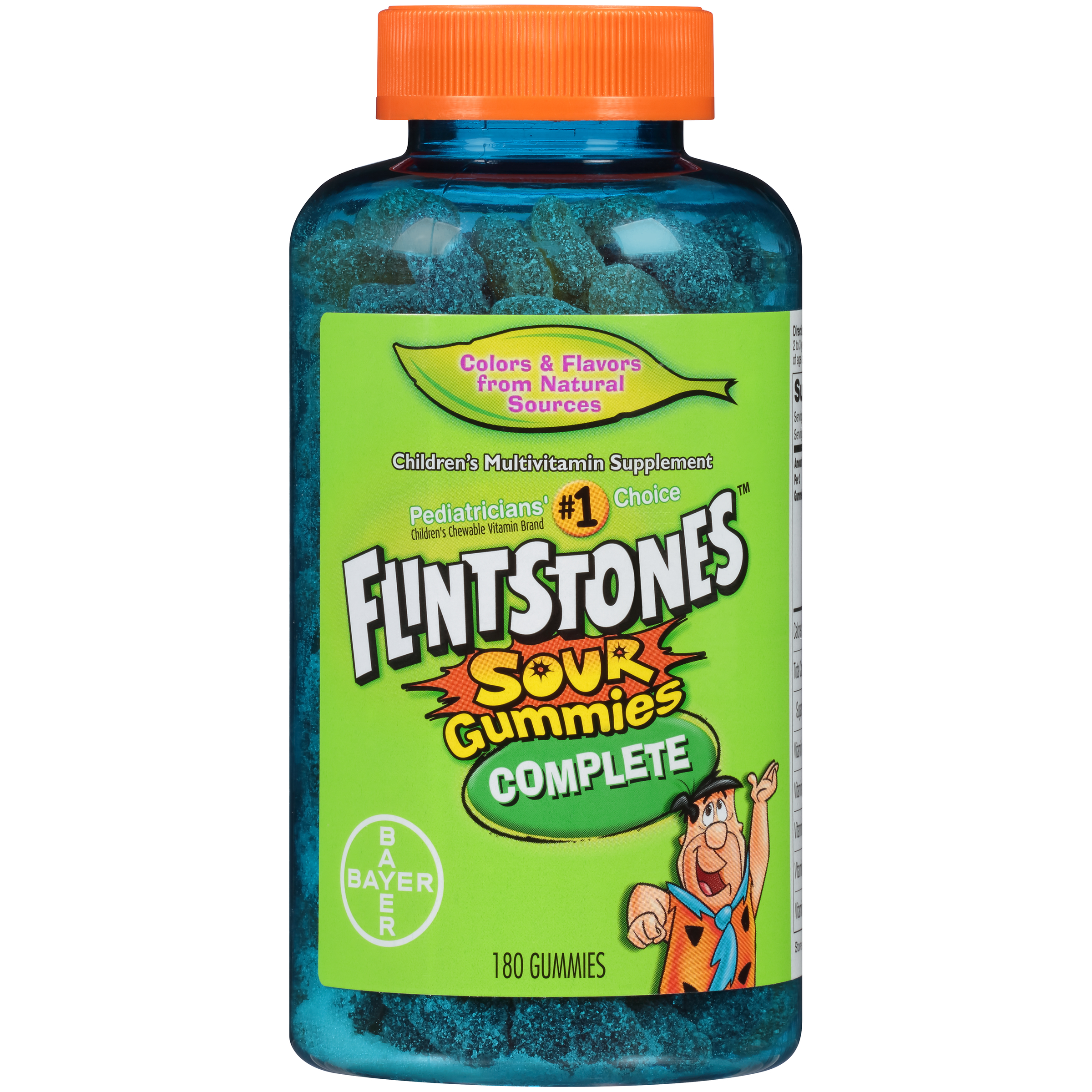 Flintstones Children's Complete Multivitamin Sour Gummies, 180 Count