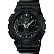 Casio G-Shock Military Black GA100MB-1A 3-Eye Ana-Digi Wristwatch