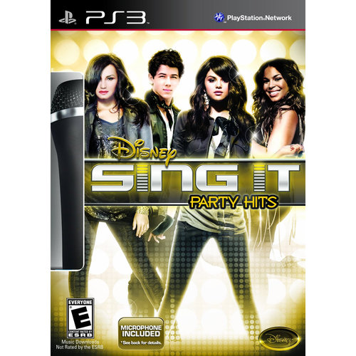 Disney Sing It 3 with Mic (PS3)
