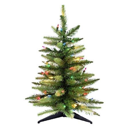 Pre-Lit Tabletop Christmas Tree - Kurt Adler 2 Ft. Pre-Lit Tabletop Christmas Tree - Walmart.com