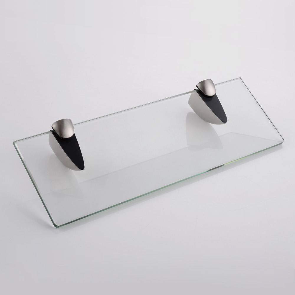 KES 14-Inch Bathroom Tempered Glass Shelf 8MM-Thick Wall Mount ...