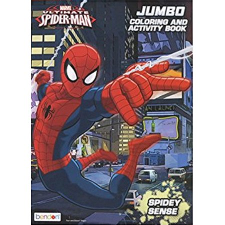 Coloring Book - Spiderman - Party Favors - 96 Pages - Spidey