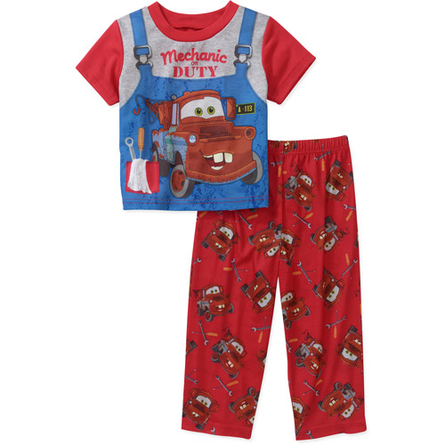 Disney Baby Boys' Cars Mater 2 Piece PJ Set