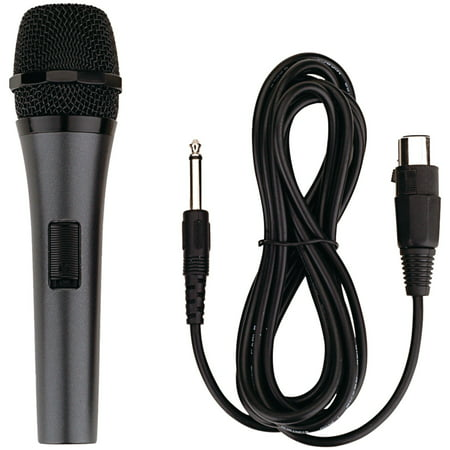 - Karaoke USA  M189 Professional Dynamic Microphone (Detachable Cord)