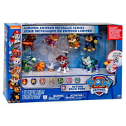 Paw Patrol Action Pack Pups Figure 7-Pack [Limited Edition Metallic]