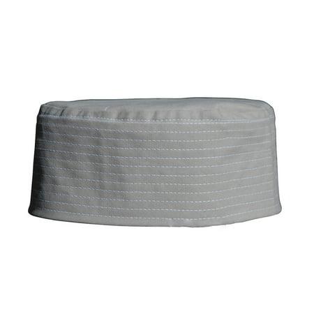 TheKufi® Tan Plain Flat Top Thin Prayer Cap Kufi Islamic Muslim - Flat Top Hat