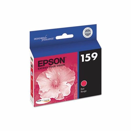 Epson T159720 (159) UltraChrome Hi-Gloss 2 Ink Red ()