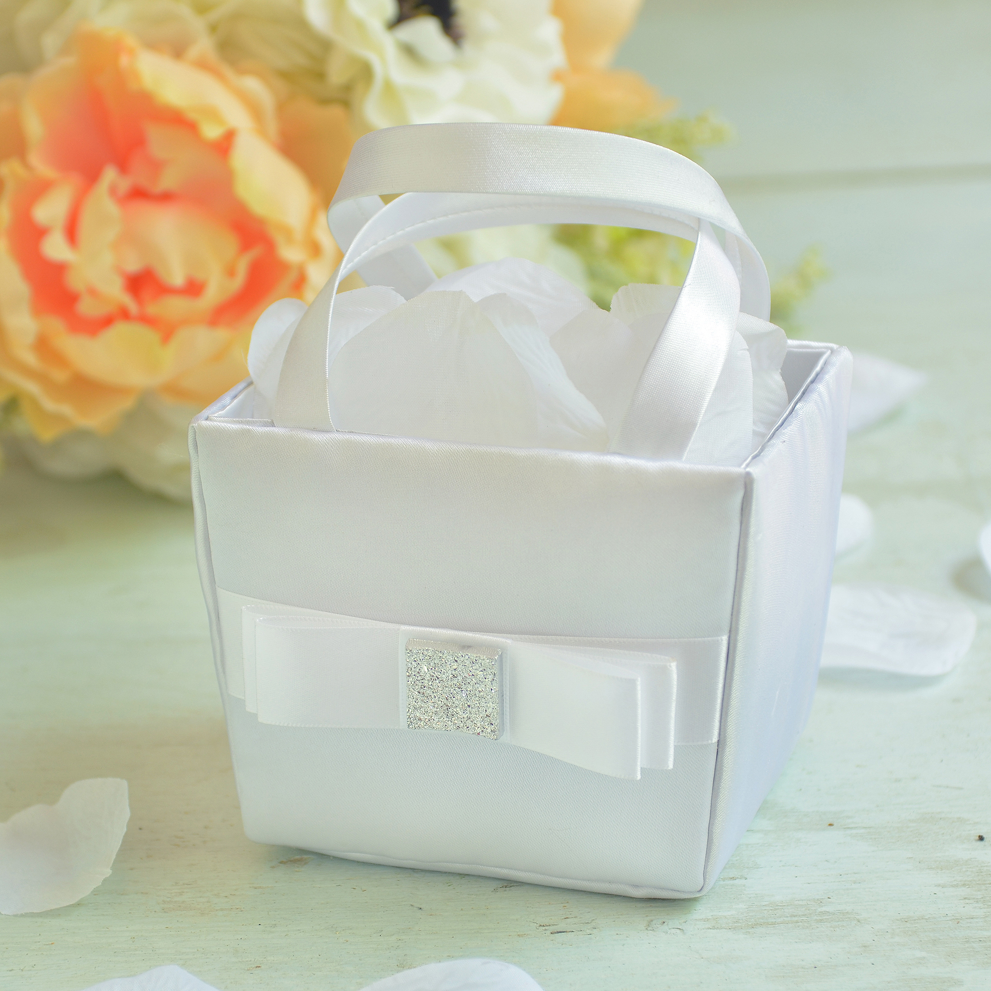 Gartner Studios Bow Flower Girl Basket
