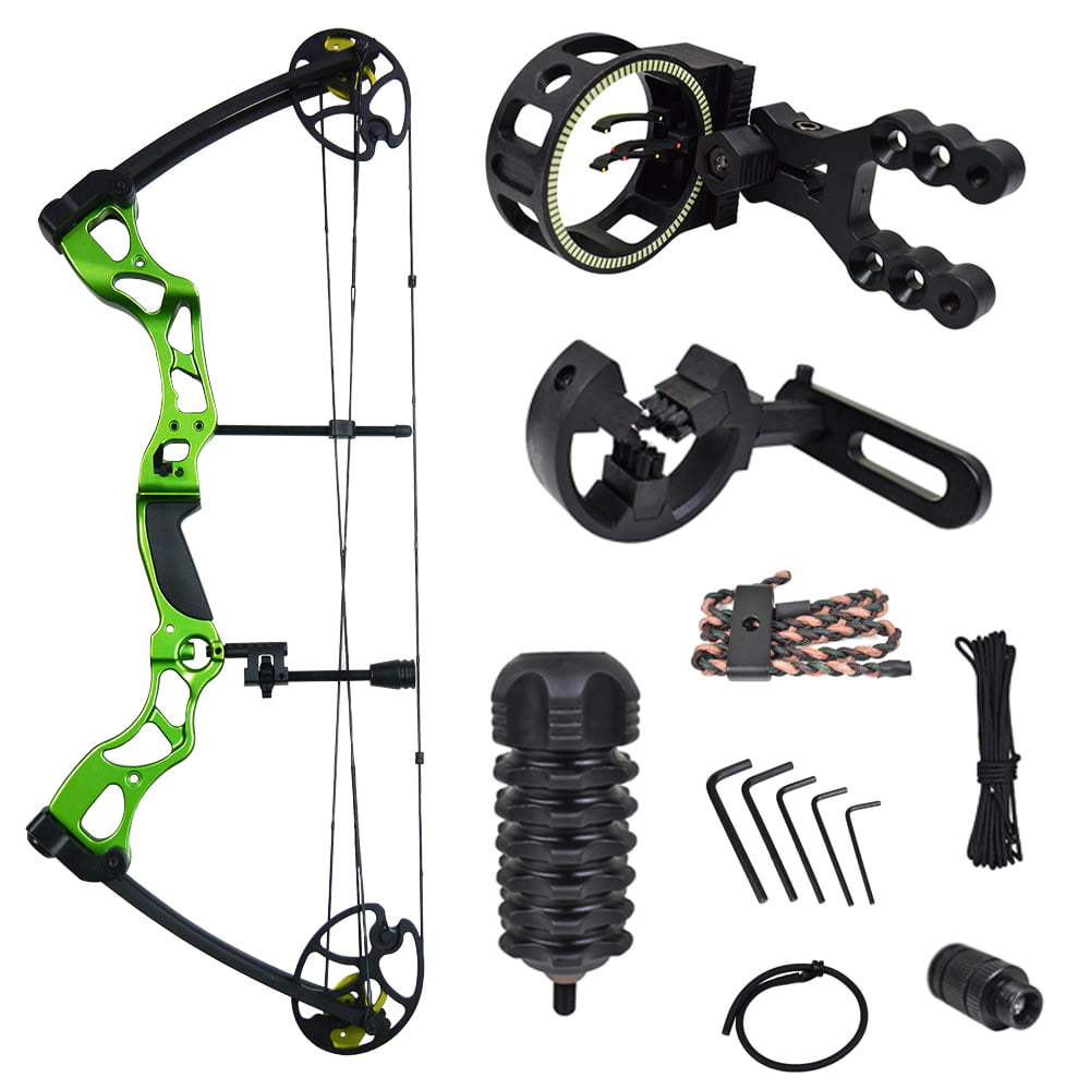 iGlow 40-70 lbs Black   Camouflage Camo Archery Hunting Compound Bow 175 150 60 55 30 lb Crossbow by