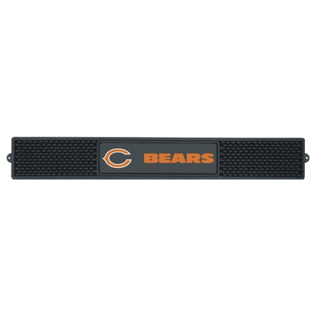 Chicago Bears Black Face (FanMats NFL Chicago Bears Drink Mat )