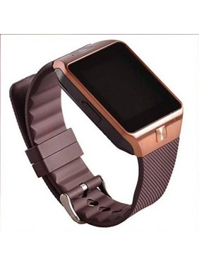 DZ09 Gold Bluetooth Smart Wrist Watch Phone mate for Android Samsung HTC LG Touch Screen with Camera