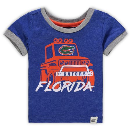 Florida Gators Colosseum Newborn & Infant Mud Flap Ringer T-Shirt - Royal