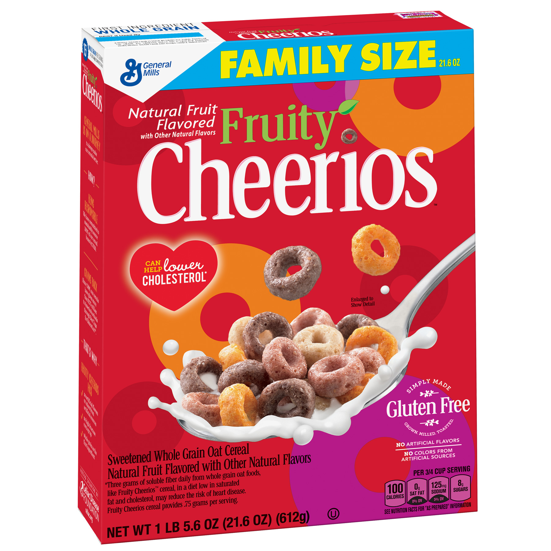Fruity Gluten Free Cheerios, 21.6 oz