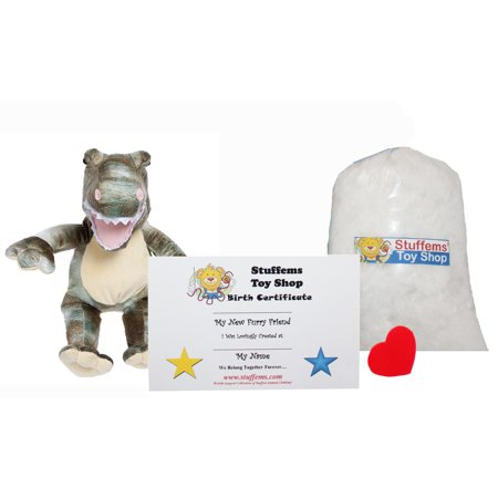 Make Your Own Stuffed Animal Mini 8 Inch Dyno Dinosaur Kit - No Sewing Required! - Make Your Own Stuffed Animal