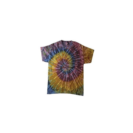 Tie-Dye Adult 5.4 oz., 100% Cotton (Medium Tie Dye Shirt)