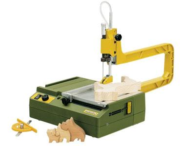Proxxon Scroll Saw DS 115 E with Stable Ribbed Die Cast Aluminium by Proxxon