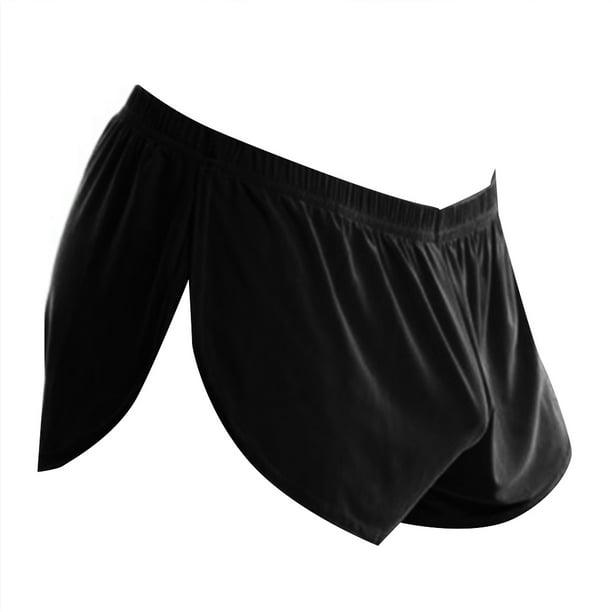Men Boxer Shorts Trunks Leg Strap Garter Belt Briefs Underwear U Convex Panties