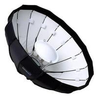 Fotodiox BD-EZPro-Profoto-48 48 in. EZ-Pro Studio Solutions Beauty Dish & Softbox Combination with Profoto Speedring