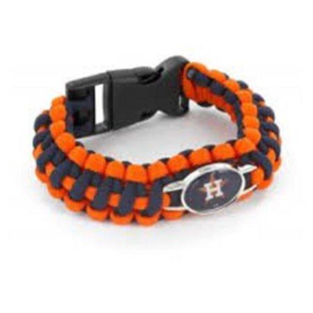 Aminco 6326479627 Houston Astros Braided Bracelet, Navy & Orange - image 1 of 1