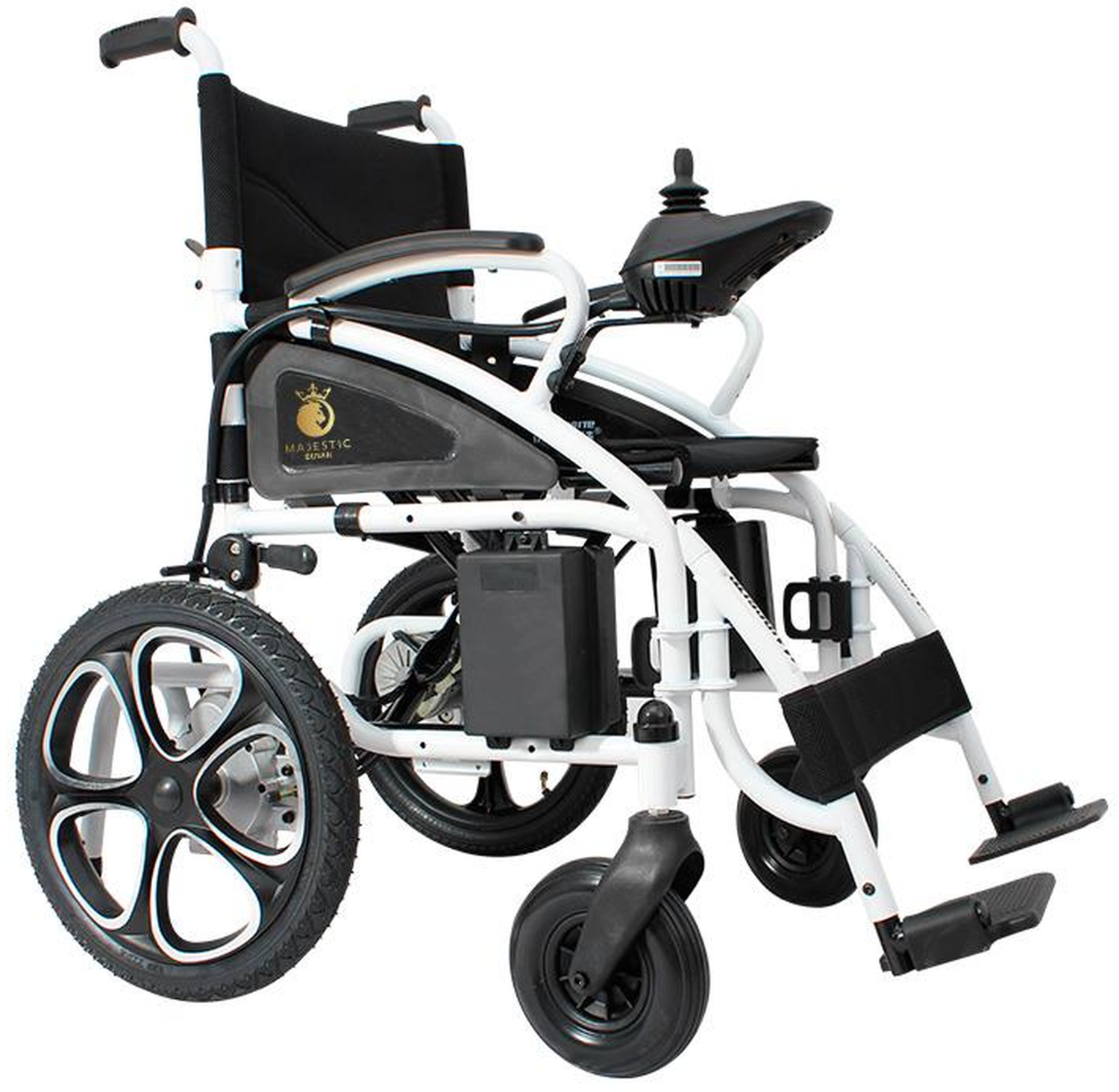 Mobility Chair Folding Electric Wheelchair Medical Mobility Aid Lightweight, Heavy Duty