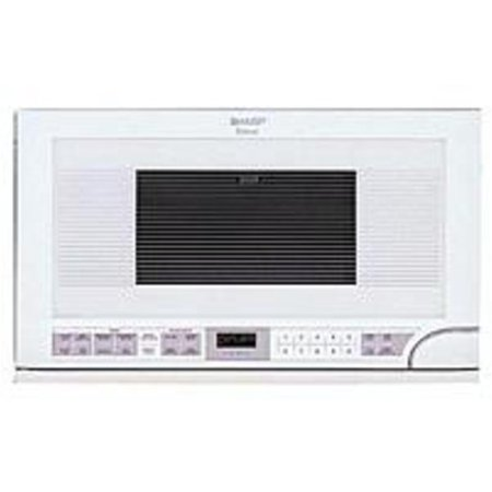 Sharp R 1211 1 5 Cubic Feet Over The Counter Microwave