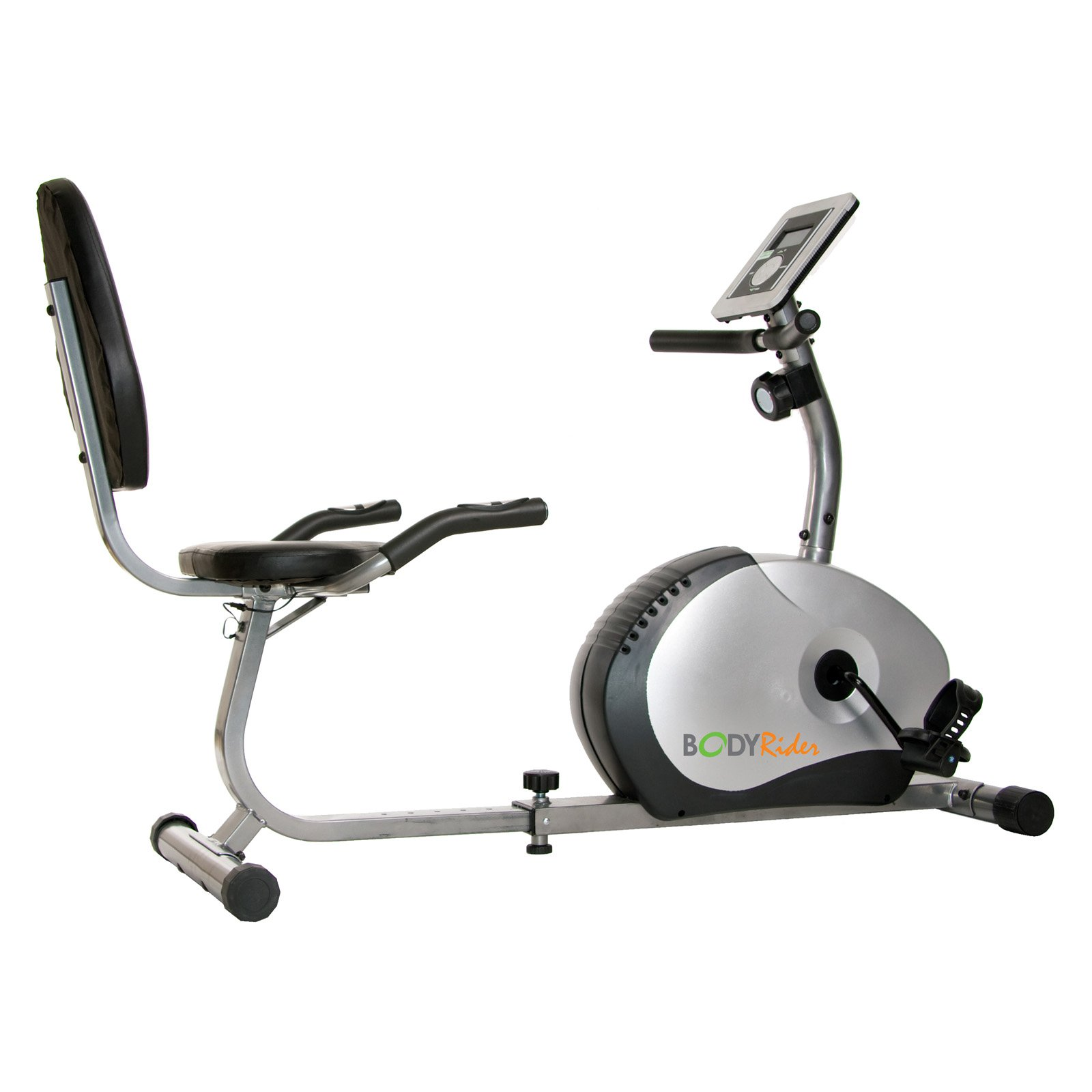 Body Champ BRB1270 Magnetic Recumbent Exercise Bike