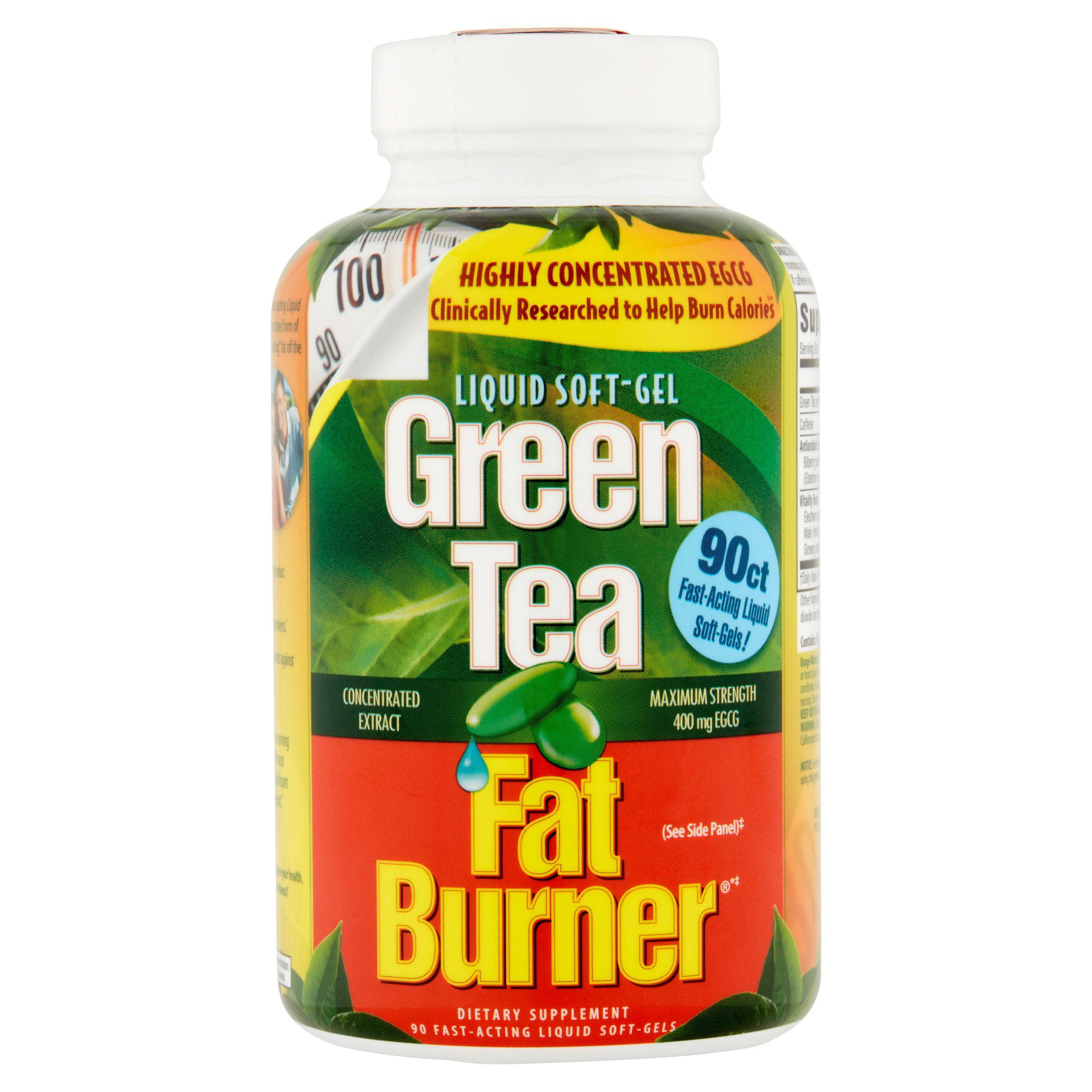 Green Tea Fat Burner: Fat Burner Dietary Supplement Green Tea, 90 ct