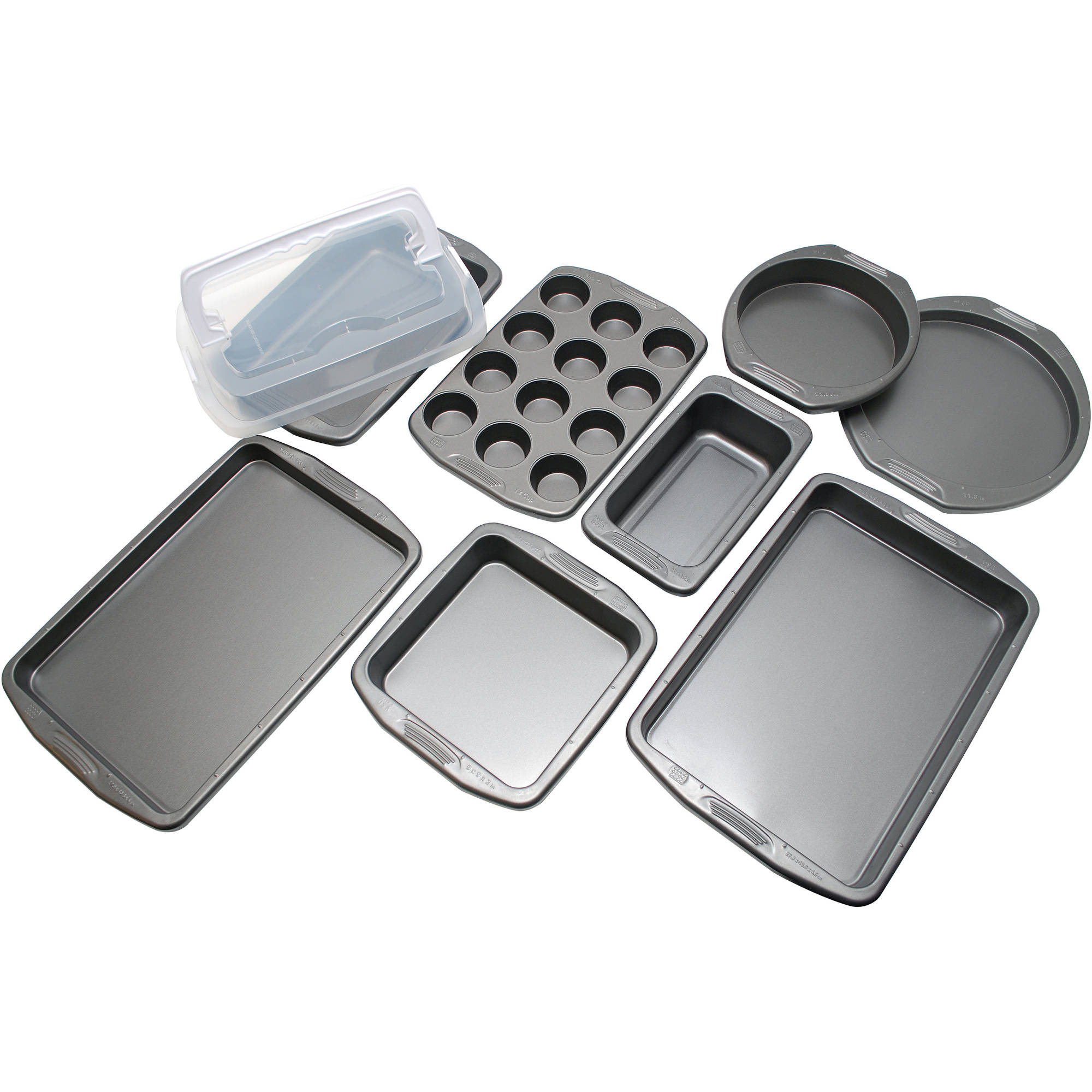 Generic Preferred Elite 9 - Piece Bakeware Set, Grey